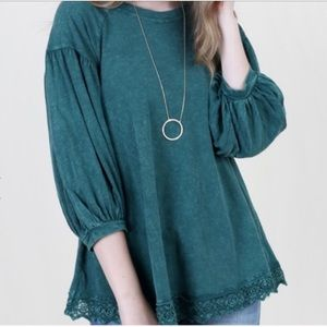 Altar'd State Boho Style Classic Wash Top